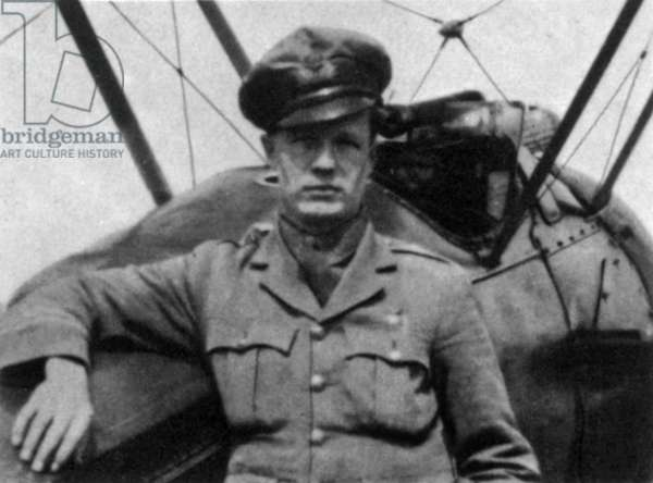 Captain Arthur Roy Brown (1893-1944) Canadian World War I flying ace whom the Royal Air Force officially credited with shooting down Manfred von Richthofen in 1918