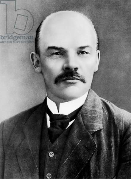 Lenin (Vladimir Ilitch Oulianov 1870-1924) in Paris France 1910