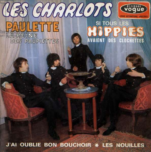 Single record sleeve of Charlots 1967