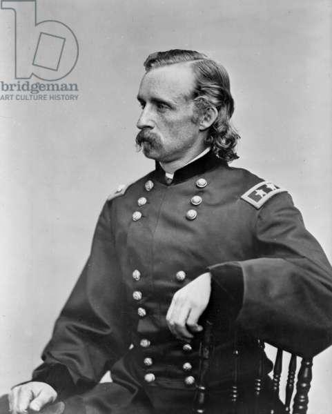 George Custer (1839-1876) american cavalry general during American Civil War, Photograph by Matthew Brady