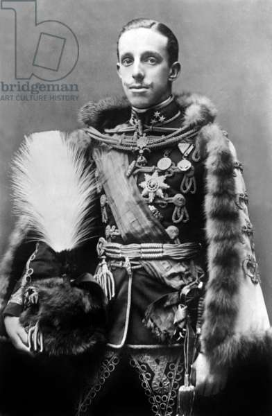 Don Alfonso XIII (1886-1941) king of Spain in 1886-1931 c. 1915