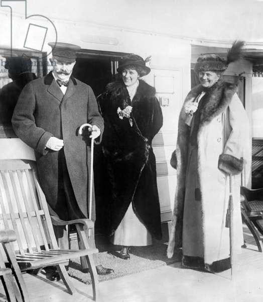 Franz Ferdinand (1863-1914), Archduke of Austria Countess Baillet de Latour and Sophie, Duchess of Hohenberg (1868-1914), the wife of Franz Ferdinand c. 1913