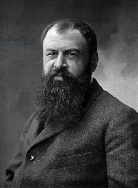 Tristan Bernard (1866-1947) french playwright and novelist, photo from french paper