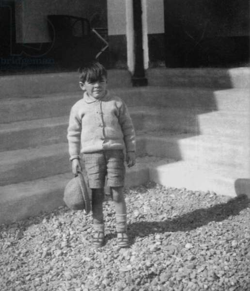 Ernesto Che Guevara (1928-1967), here as a child in argentina c. 1934