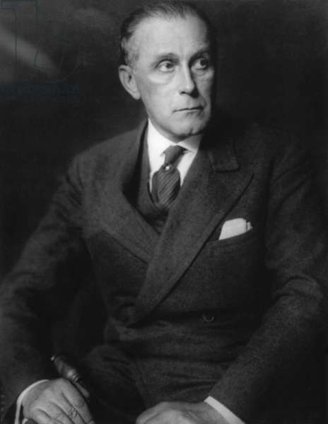 Adolf Loos (1870-1933) austrian architect c. 1930