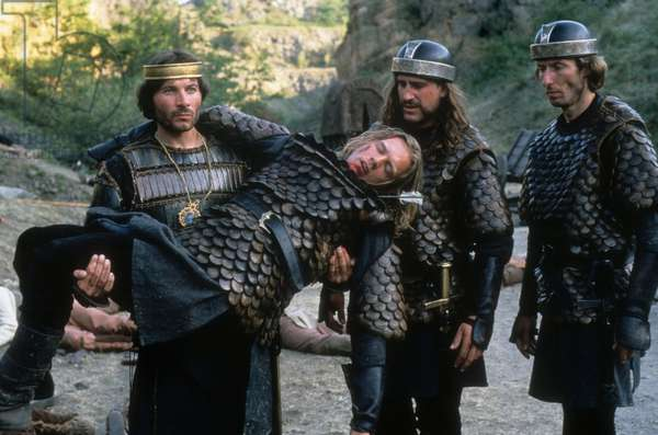 Charlemagne, le prince a cheval de Clive Donner avec Christian Brendel, Xavier Philippe Deluc, 1993