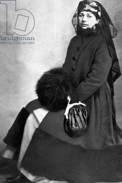 Margaretha Geertruida Zelle called Mata Hari (1876-1917) dutch dancer and spy for the Germany, photographied c.1914-1917