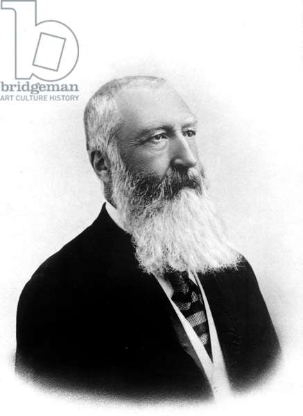 Leopold II king of the Belgians (1935-1909) King in 1865 when his father LeopoldI died , photographied between 1885 and 1900