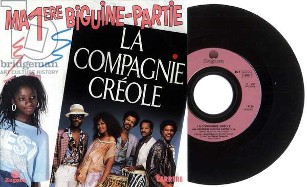 Single record sleeve of La compagnie Creole 1987, France
