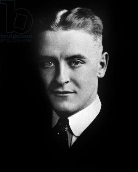 Francis Scott Key Fitzgerald (1896-1940) american writer, here c. 1930