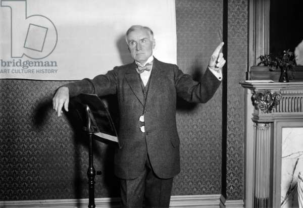 Walter Damrosch (1862-1950) american composer c. 1920