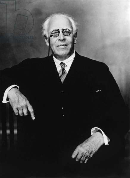 Konstantin Stanislavsky (1863-1938) russian comedian, co founder of the Moscow Art Theatre in 1898, here in 1938