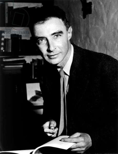 Julius Robert Oppenheimer, 1942 (b/w photo)
