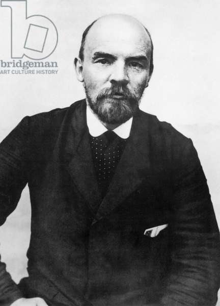 Lenin during his stay in Poland august 1914