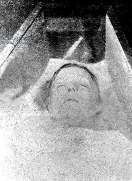 picture from Scotland Yard of Mary Ann Nicholls victim of serial killer Jack the Ripper september 1888