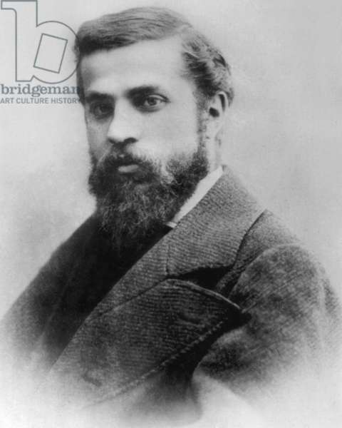 Antoni Gaudi (1852-1926) Catalan architect c. 1882
