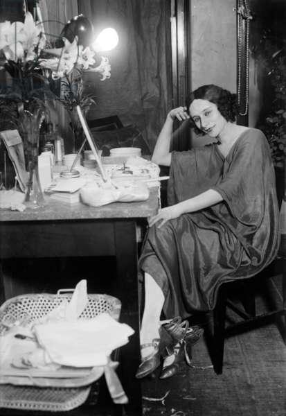 Russian dancer Anna Pavlova (1881-1931) c. 1920