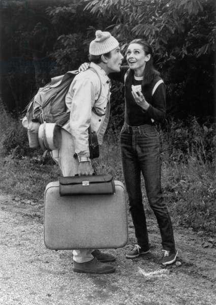 Voyage a Deux TWO FOR THE ROAD de StanleyDonen avec Albert Finney, Audrey Hepburn, 1967