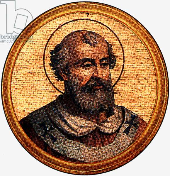 Saint Vitalian, 76th pope from 30 July 657 until his death on 27 January 672.