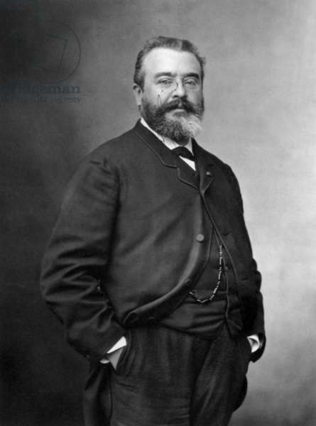 Adrien Proust (1834-1903) medicine professor and father of Marcel Proust photo Nadar 1886