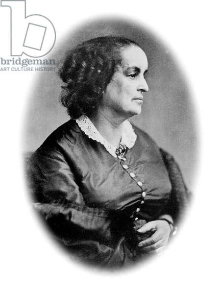 Adele Foucher (1803-1868) wife of Victor Hugo, c. 1860