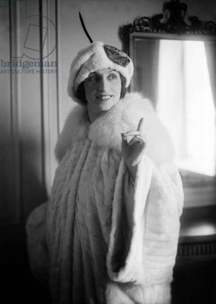 Italian soprano Amelita Galli Curci (1882-1963) c. 1920