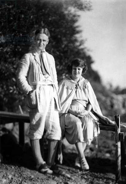 Francis Scott Key Fitzgerald (1896-1940) american writer, here c. 1920
