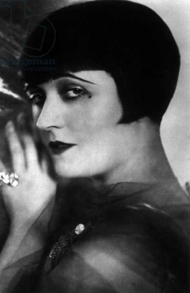 Polish actress Pola Negri (1894-1987) in the 20's