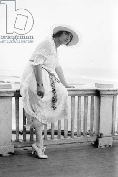 Italian soprano Amelita Galli Curci (1882-1963), c. 1920