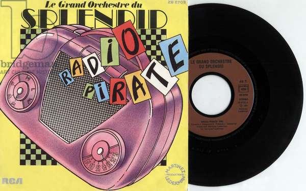 Single record sleeve of grand orchestre du Splendid 1981, France