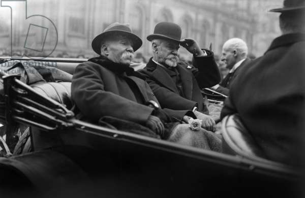Georges Clemenceau and Jean Jules Jusserand