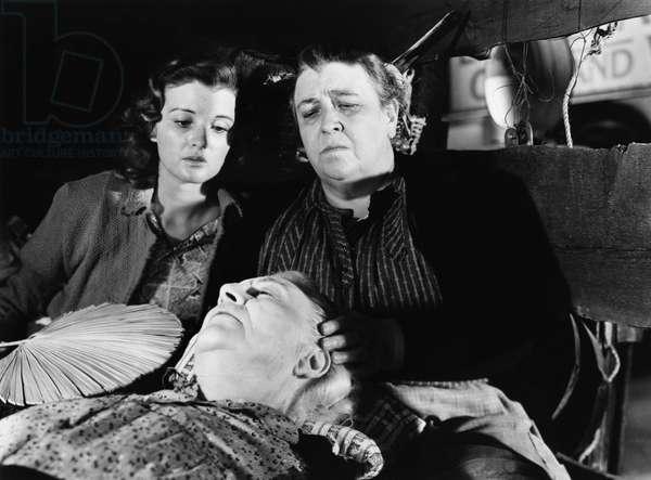 Les Raisins de la colere THE GRAPES OF WRATH de John Ford, d'apres un roman de John Steinbeck, avec Dorris Bowden, Jane Darwell, 1940