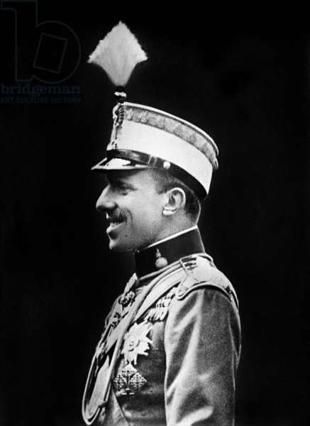 Don Alfonso XIII (1886-1941) king of Spain in 1886-1931 c. 1920