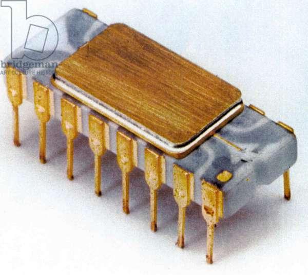 1st microprocessor, 1971: Intel 4004