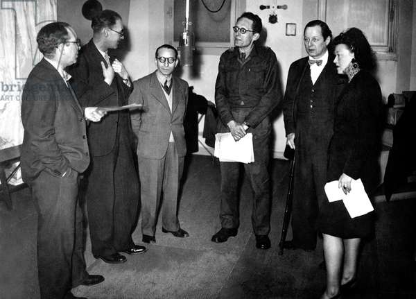 Voices of free France in London at the BBC during second world war