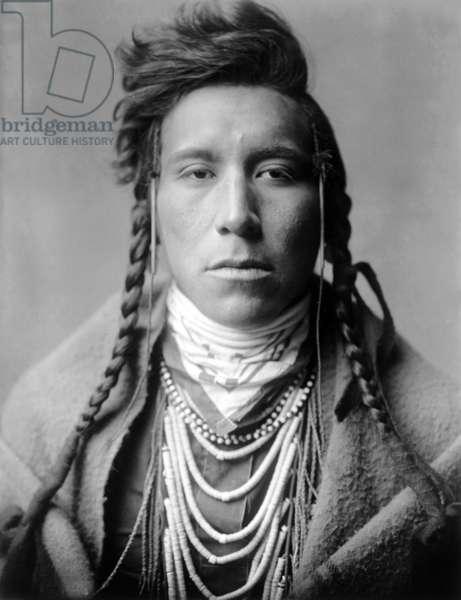Bird on High Land, Crow indian, Montana, USA, c. 1908, photo Edward S. Curtis