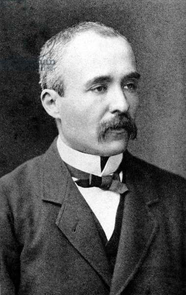 Georges Clemenceau (1841-1929) french journalist and politician, head of government in 1906 - 1909, here in the 1890's