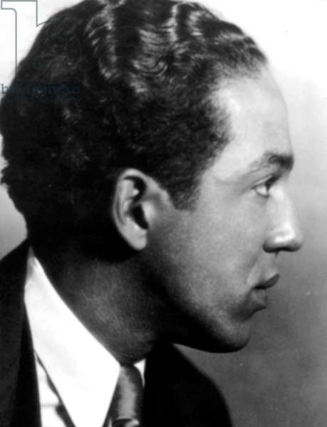Langston Hughes, 1943 (b/w photo)