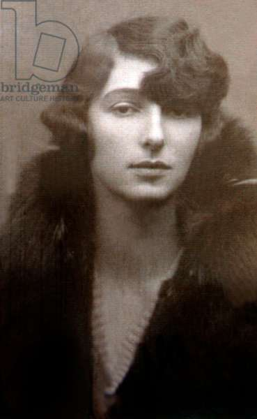 Polish Countess Krystyna Skarb called Christine Granville (1908-52) Spy in Poland and France during World War II (1939 1945) Here at the age of 19-