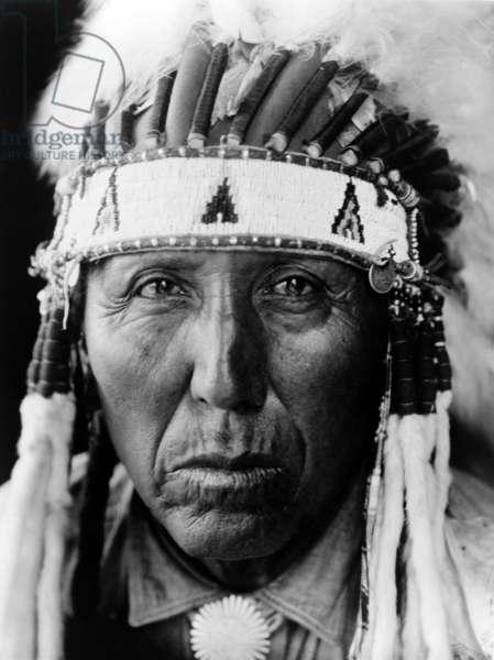 Red Bird, Cheyenne, c. 1927, photo Edward S. Curtis