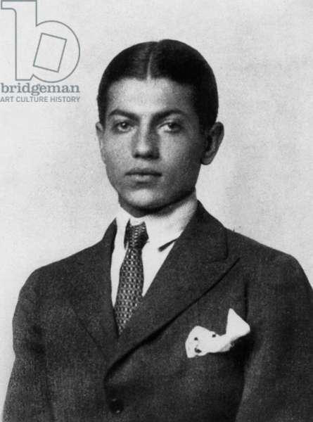 Serge Lifar (1905-1986) russian choreographer and dancer, here in 1924
