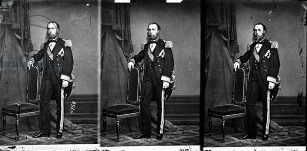 Maximilian of Habsburg (1832-1867) archduke of Austria, and emperor of Mexico in 1864-1867, c. 1864