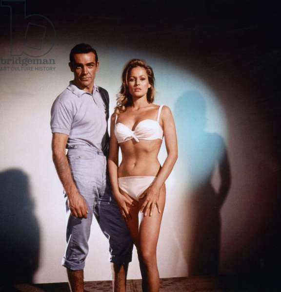 James Bond 007 contre Docteur No DR. NO de TerenceYoung avec Sean Connery (James Bond 007) et Ursula Andress, 1962