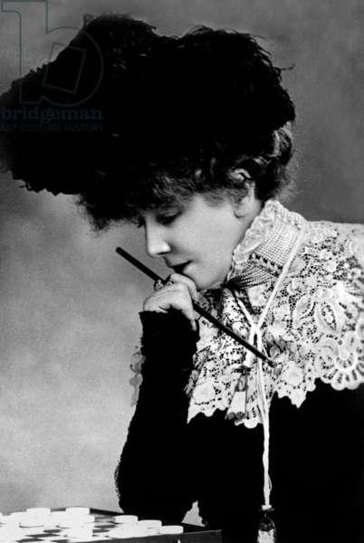 Sarah Bernhardt (1844-1923) french actress c. 1900