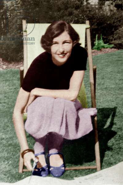 Polish Countess Krystyna Skarb known as Christine Granville (1908-52) Spying in Poland and France during the Second World War (1939 1945)