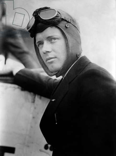Charles Lindbergh, 1927 (b/w photo)