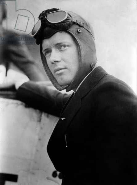 Charles Lindbergh, 1927 (b/w photo)