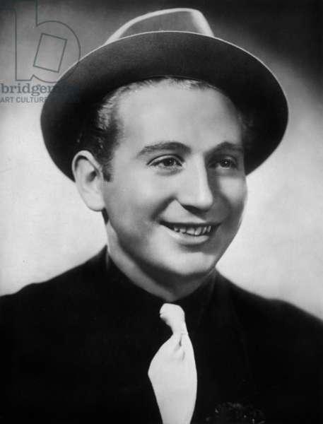 French singer Charles Trenet (1913-2001) c. 1938
