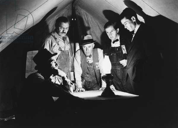 Les Raisins de la colere THE GRAPES OF WRATH de John Ford, d'apres un roman de John Steinbeck, avec John Carradine, Henry Fonda, 1940