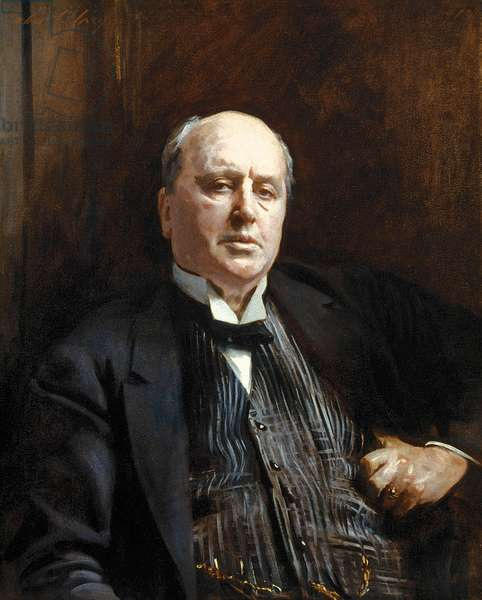 Henry James, 1913 (oil on canvas)